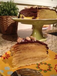 18 layer crepe cake