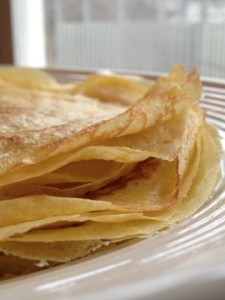 Curly Lacy Crepes